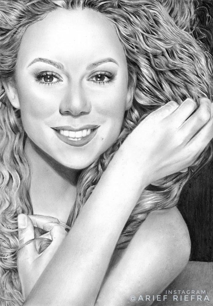 Mariah Carey par riefra